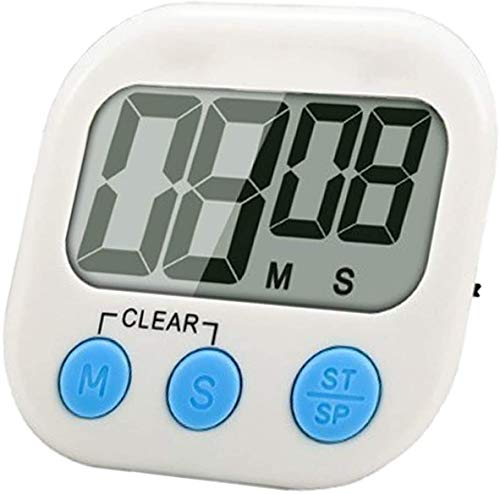 MEIW Small Kitchen Timer Digital,Timers for Cooking,Kid, Classroom,Bathroom,Big Digits Timer