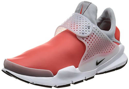 Nike Sock Dart SE Mens Running Trainers 911404 Sneakers Shoes (UK 9 US 10 EU 44, max Orange Black Wolf Grey 800)