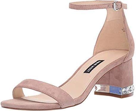 NINE WEST Womens Hazel Open Toe Special Occasion Ankle Strap Sandals