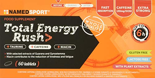 "Namedsport Suplemento Dietético ""Total Energy Rush"" - 60 Tabletas"