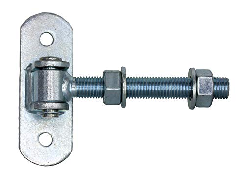 Torband Einstellbar lang M12 M16 M18 M20 Tür Torscharnier Angel kmpl. verzinkt (Torband M16#750-16) UHRIG®