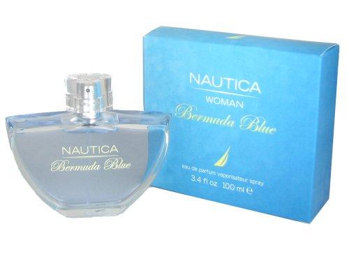 Nautica Bermuda Blue By Nautica For Women. Eau De Parfum Spray 3.4 Oz