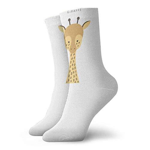 Drempad Luxury Calcetines de Deporte Giraffe Women & Men Socks Soccer Sock Sport Tube Stockings Length 11.8Inch