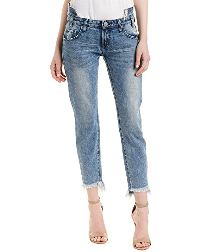 One Teaspoon Freebirds Jeans Skinny, Blu (Blue Society 000), 27W Donna