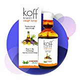 20 MICRONS HERBAL Koff Kranti Ayurvedic Cough Syrup Woth Tulsi, Ardusi, Saunth, Yashthimadhu