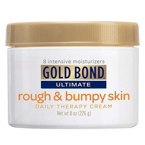 Gold Bond Ultimate Rough & Bumpy Skin Daily Therapy Cream 8 oz (226 g) Pack of 5