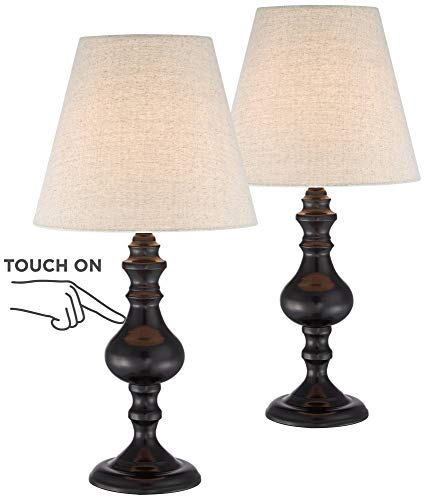 Ted Traditional Accent Table Lamps 18 1/2