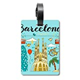 Barcelona Sagrada Familia Cruise Maleta Etiqueta Identificación Turista