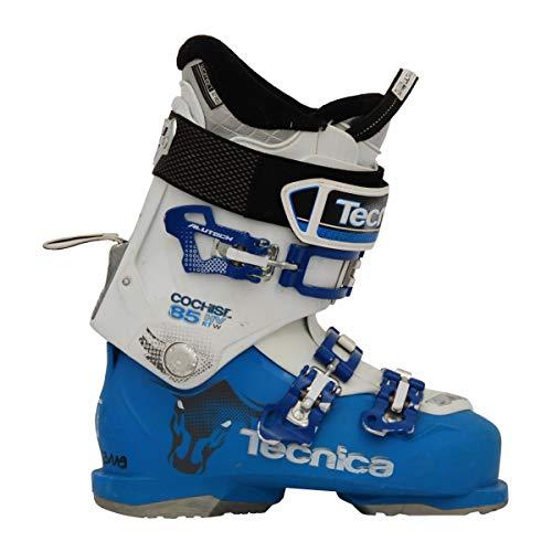 Moon Boot Gebrauchte Skischuhe Tecnica Cochise 85 HV RT w weiß blau