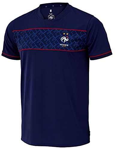 Equipe de FRANCE de football Maillot FFF - 2 étoiles - Collection Officielle Taille Homme S