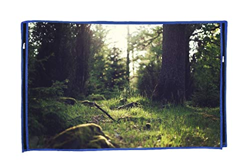 Blufury 55 inch MI TV Screen Protector Heavy Duty Dust Cover with UV Protector Layer
