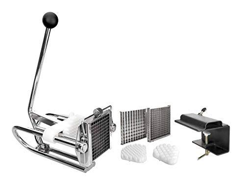 Lacor- 60343 - Corta Patatas Chip 3 Cortadores Inox.