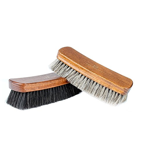 FootFitter Shoe Brush Diplomat Exclusive Jumbo, 2 Brush Set