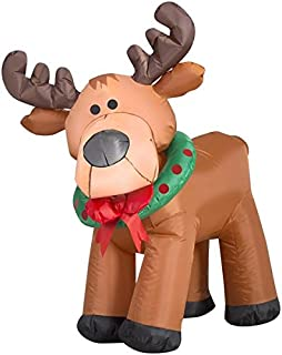 Gemmy 3.5' Airblown Moose Christmas Inflatable