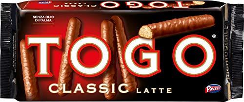 Pavesi Togo Classic, Biscotto Ricoperto con Cioccolato al Latte - 120 gr