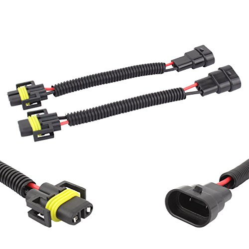 TOMALL Led-stecker Adapter Glühbirne 9006 von 9005 bis H11 H8 Nachrüstung für LED-Nebelscheinwerfer Steckdose 12 cm (5 Zoll)