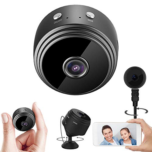 WiFi Camera Wireless 1080P Camera, kunkin Dome Cameras Cam Indoor Surveillance Camera for Live Stream/Night Vision/Motion Activated with Phone APP