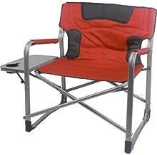 Ozark Trail 500 lb Capacity XXL Director Chair (red)