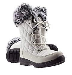 Arctic shield winter snow boots for women