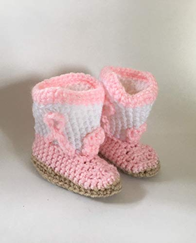 Free Knitted Infant Cowboy Boots