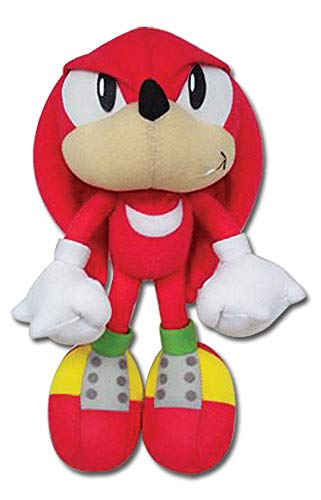Great Eastern GE Animation Sonic Classic Knuckles Plush,Red,9