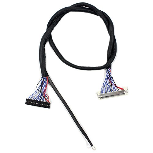 LVDS-Kabel FIX-30P 2ch 8bit 50cm Länge (MEHRWEG)