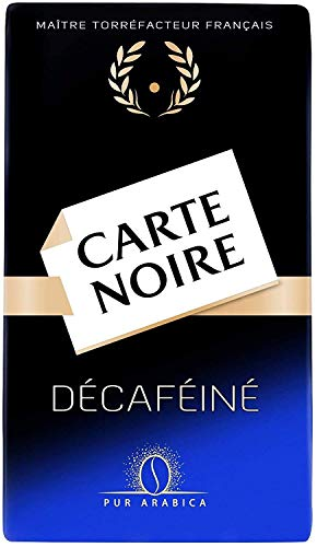 Carte Noire Décaféiné, Café Torréfié Moulu Pur Arabica, Paquet de 250 g