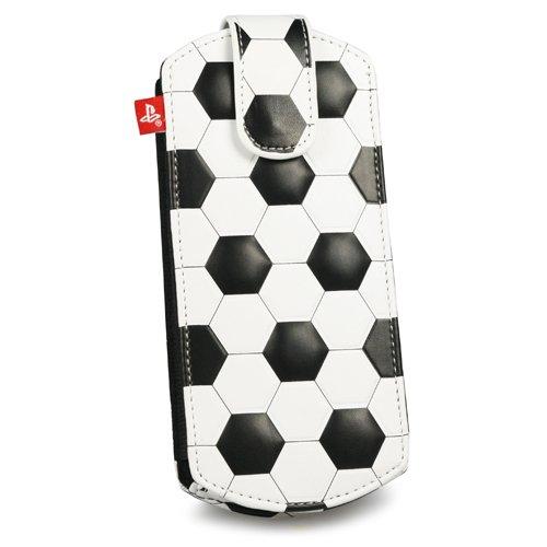 PSP - Football Slip Case, schwarzweiß [UK Import]