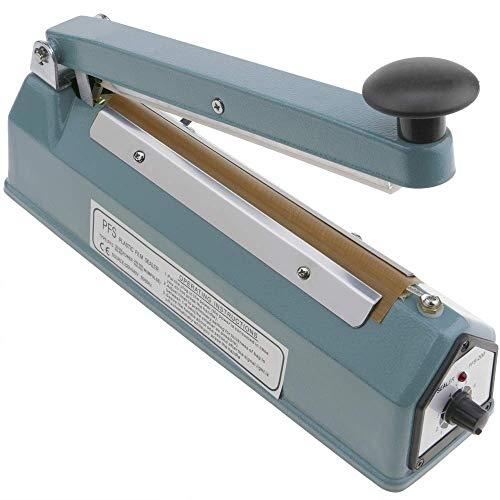 PrimeMatik - Impuls Schweißgerät Metall Gehäuse Taschen Verschweißen 20 cm 200 mm