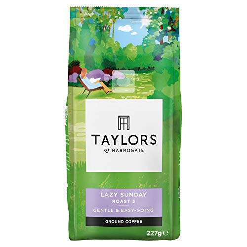 Taylors of Harrogate Lazy Sunday Ground Coffee (Pack of 6)