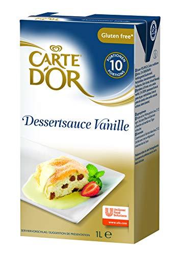 Carte d'Or Dessertsauce Vanille (flüssig) 12er Pack (12 x 1L)