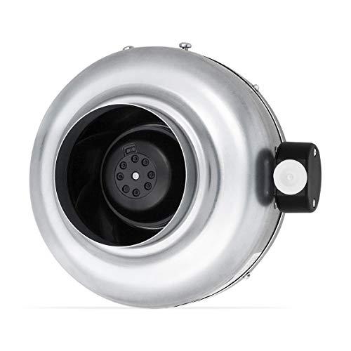 neverest RV-125 Profi Rohrventilator 125mm - Rohrlüfter - Abluftventilator - Lüftung