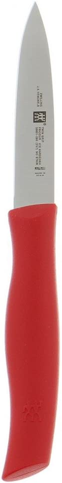 ZWILLING Twin Grip Paring 3.5-inch Knife Red Bargain sale Max 54% OFF