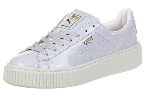PUMA Basket Platform Patent WN's, Sneaker, Blau (Halogen Blue-Halogen Blue), 41 EU (7.5 UK)