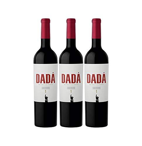 Finca Las Moras DADÁ No.1 Rotwein veganer Wein halbtrocken Argentinien (3 Flaschen)