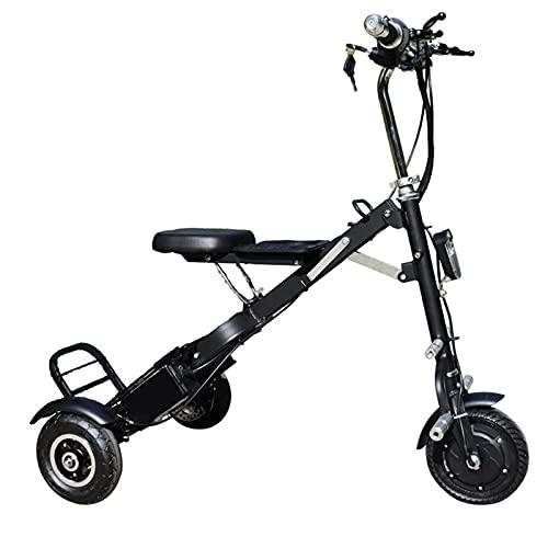 WPeng Bicicleta Eléctrica Portátil,Adultos Bicicleta Eléctrica Plegable,Triciclo Eléctrico Motor 250W,Batería Extraíble Iones...