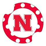Thirstystone University of Nebraska Dots Car Cup Holder Coaster, 2-Pack