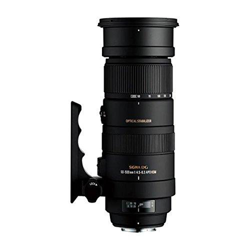 Sigma 50-500 mm F4,5-6,3 DG OS HSM-Objektiv (95 mm Filtergewinde) für Sigma Objektivbajonett