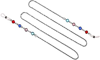 Floridivy Cristallo Occhiali da Lettura a Catena Catene Occhiali Cords delle Ragazze delle Donne degli Occhiali da Sole Cordini del Cinturino