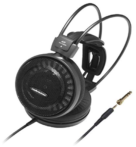Audio-Technica ATH-AD500X Audiophile Open-Air Headphones, Black (AUD ATHAD500X)