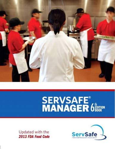 ServSafe Manager, Revised with ServSafe Exam Answer Sheet (6th Edition)