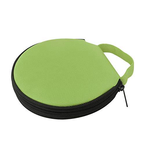 Steellwingsf solide Farbe r& Oxford Tuch Auto zu Hause 20 Scheibe CD-Aufbewahrungstasche Tasche Rei?Verschluss-Tasch-gr¨¹n