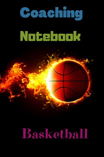 Coaching Notebook Basketball: Playbook Accessories Game Clipboard Practice