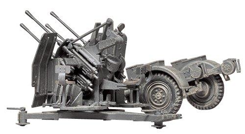 タミヤ 1/35 ミリタリーミニチュアシリーズ No.91 ドイツ陸軍 20mm 4連装高射機関砲 38型 プラモデル 35091
