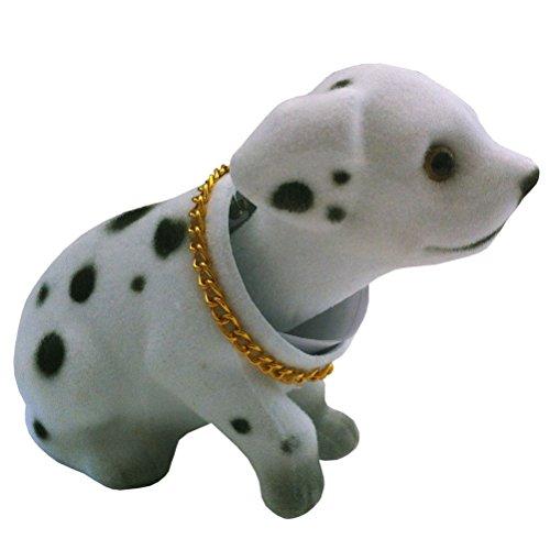 Funny Pets Mini chien de plage arrière qui bouge la tête