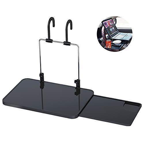 Auto Multifunktionstisch Lenkrad Tisch Laptop Schreibtisch für Lenkrad Beifahrersitz Schwarz Car Steering Wheel Desk