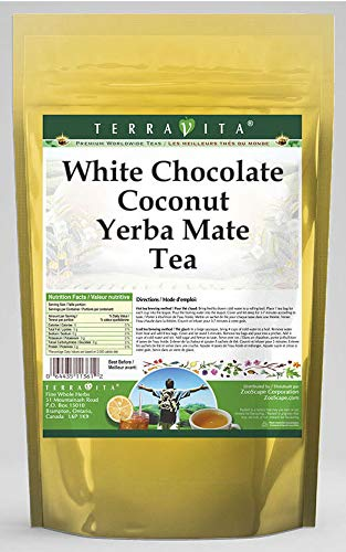 White Chocolate Coconut Yerba Mate Tea tea OFFicial store Same day shipping bags ZIN: 25 561314