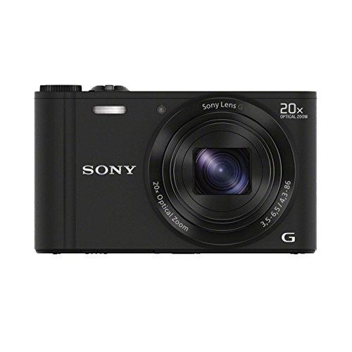 Sony DSC-WX300 Digitalkamera (18,2 Megapixel, 20-fach opt. Zoom, 7,5 (3 Zoll) LCD-Bildschirm, Full-HD, micro HDMI) schwarz