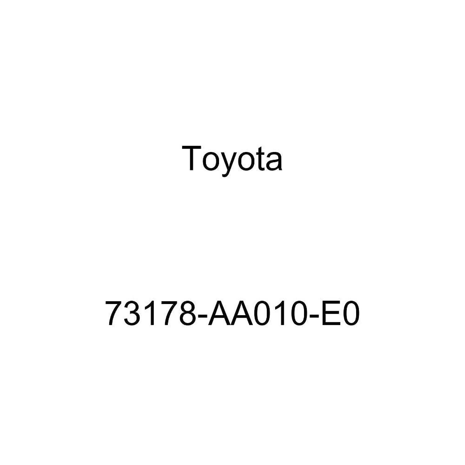 Genuine Toyota 73178-AA010-E0 Seat Belt Anchor Cover Cap