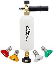 Twinkle Star Foam Cannon 1 L Bottle Snow Foam Lance with 1/4